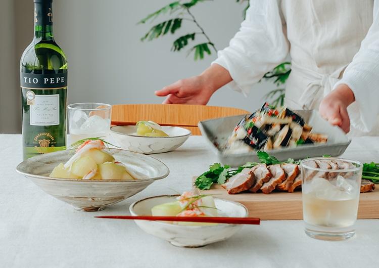 食欲が止まらない、「おうち中華×シェリー酒」という秘密の組み合わせ。|キリン オンラインショップ DRINX