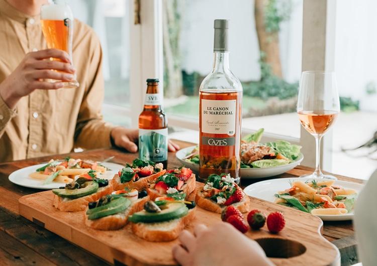 軽やかなお酒と愉しむ春の週末ブランチ|キリン オンラインショップ DRINX