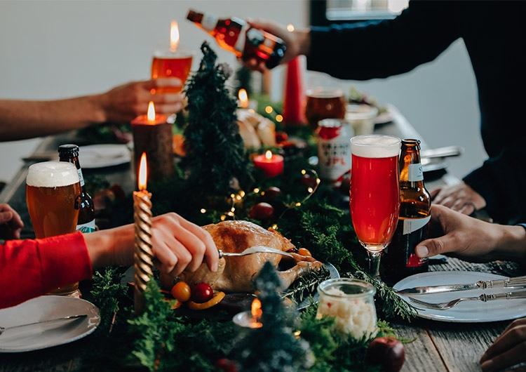 年末のホームパーティーに華を添える、料理とお酒のコーディネート|キリン オンラインショップ DRINX