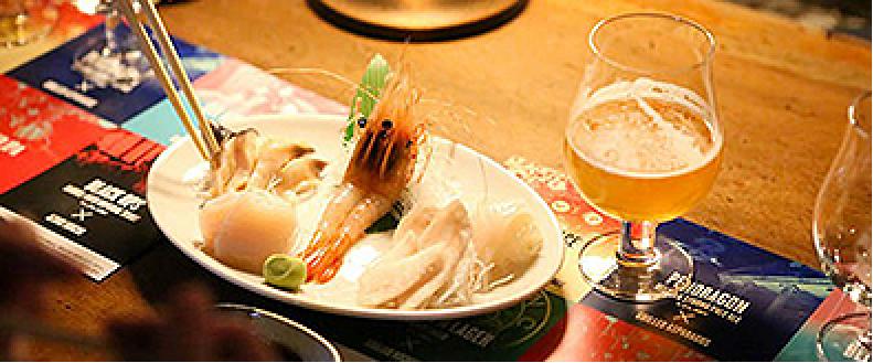 ブルックリンソラチエース×お魚料理
