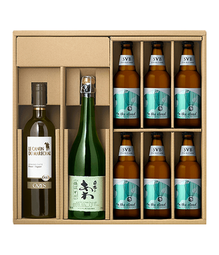【DRINX限定】Beer&Wine柑橘の香り飲み比べセット