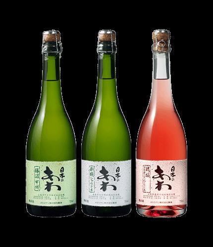【DRINX限定】シャトー・メルシャン<br>日本のあわ 3本セット