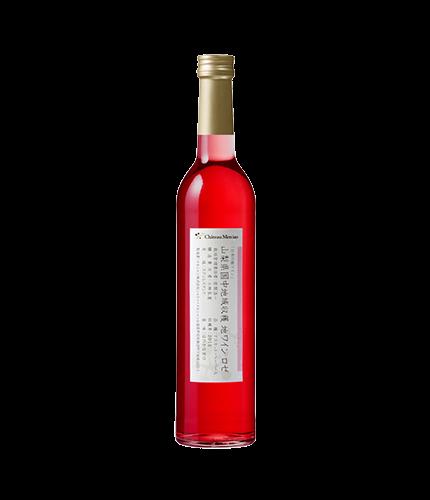 日本の地ワイン 国中マスカット・ベーリーA ロゼ 2015